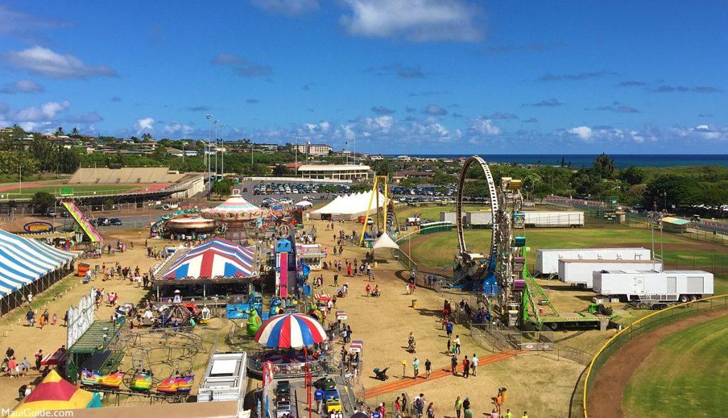 The 97th annual Maui Fair returns for another great year of fun near Kahana Beach Resort